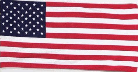 Large American Flag Beach Towel