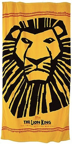 Lion King Beach Towel