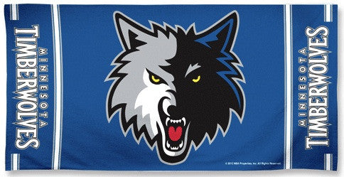 Minnesota Timberwolves Beach Towel
