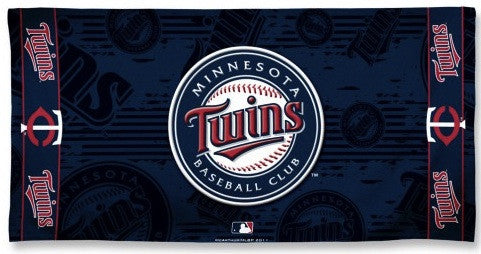 Minnesota Twins Beach Towel