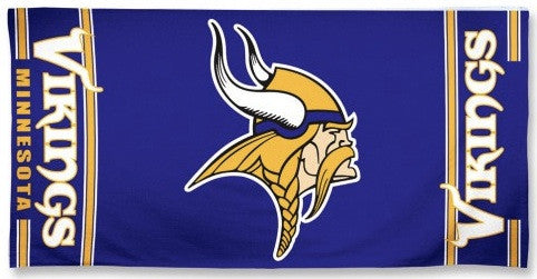 Minnesota Vikings Beach Towel