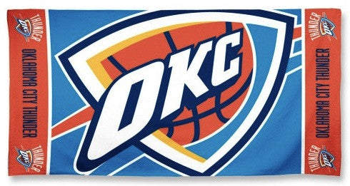 Big Oklahoma City Thunder Beach Towel
