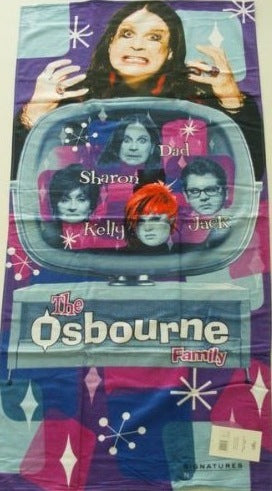 Ozzy Osbourne Beach Towel
