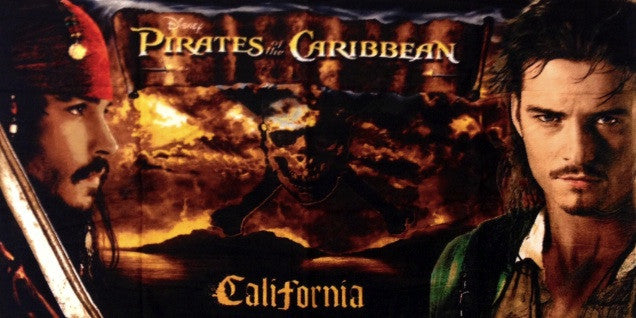 Pirates of the Caribbean Beach Towel