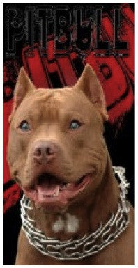 Pitbull Beach Towel