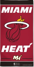 Miami Heat Beach Towel