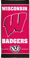 University of Wisconsin Beach Towel