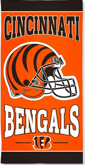 Bengals Beach Towel