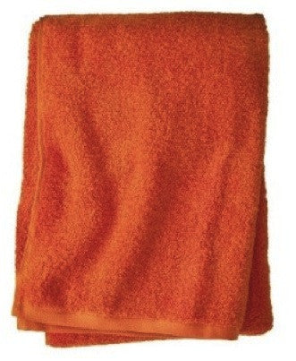Small Orange Beach Towel