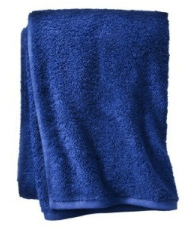 Small Royal Blue Beach Towel