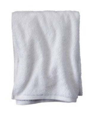 Small White Beach Towel