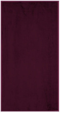 Solid Garnet Beach Towel