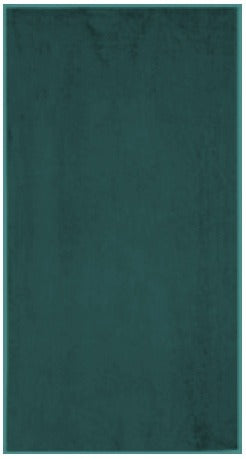 Solid Hunter Green Beach Towel