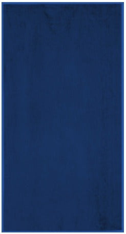Solid Navy Blue Beach Towel For Sale