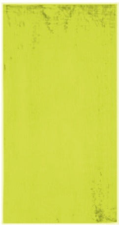 Solid Neon Yellow Beach Towel