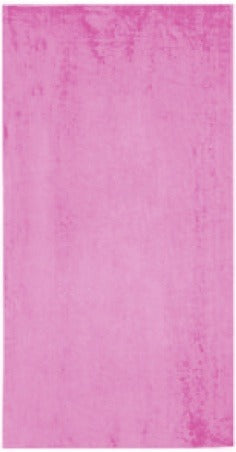 Solid Pink Beach Towel