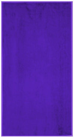 Solid Purple Beach Towel