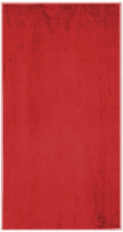 Solid Red Beach Towel