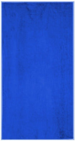 Solid Royal Blue Beach Towel