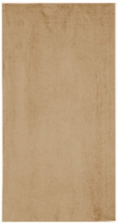 Solid Tan Beach Towel