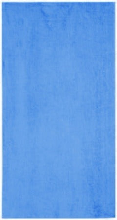 Solid Aqua Beach Towel