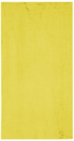 Solid Yellow Beach Towel