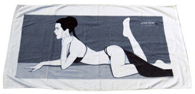 Star Wars Slave Leia Beach Towel