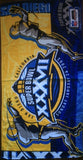 Super Bowl 37 Beach Towel