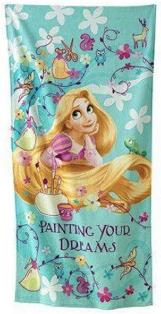 Tangled Beach Towel