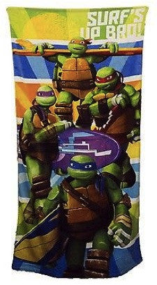 Teenage Mutant Ninja Turtles Beach Towel