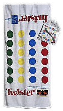 Twister Game Beach Towel For Sale