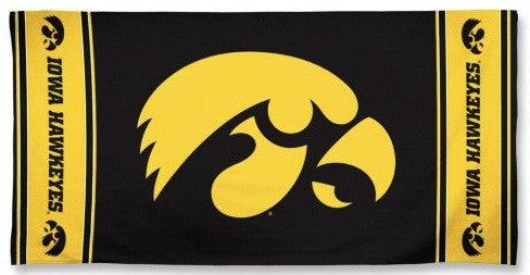 University of Iowa Beach Towel