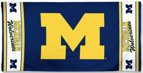 University of Michigan Beach Towel