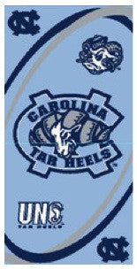 University of North Carolina Beach Towel