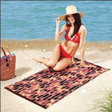 Barbecue Grill Beach Towel