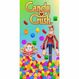 Candy Crush game beach towel
