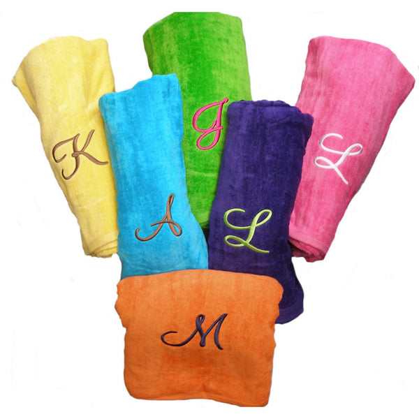 Embroidered Beach Towels For Sale