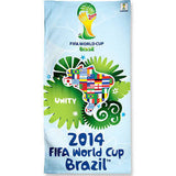 World Cup Soccer Beach Towel