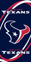 Texans Beach Towel