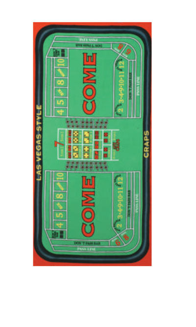 Craps Game Beach Towel