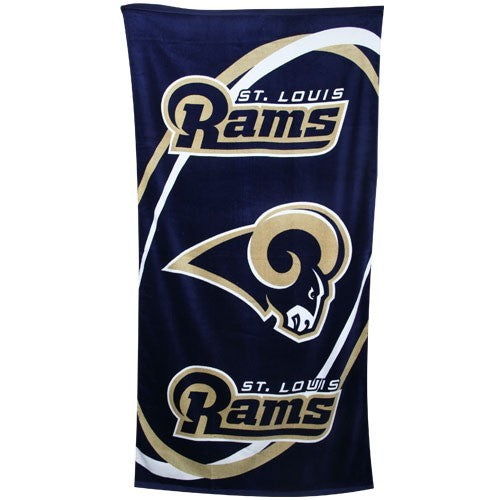 St. Louis Rams Beach Towel