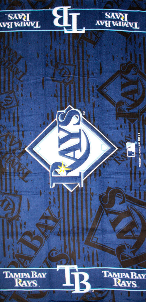 Tampa Bay Rays Beach Towel