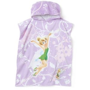 Tinkerbell Poncho Style Hooded Towel with LED Light