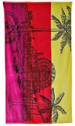 Tropical Fair Beach Towel