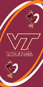 Virginia Tech Beach Towel