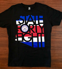 Load image into Gallery viewer, Pura Vida Grinds State Forty Eight Tshirt