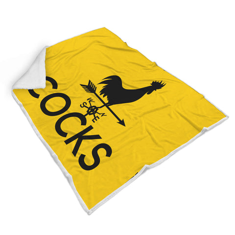Image of Cocks Blanket - Gold