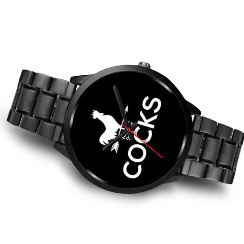 Cocks Watch - Black