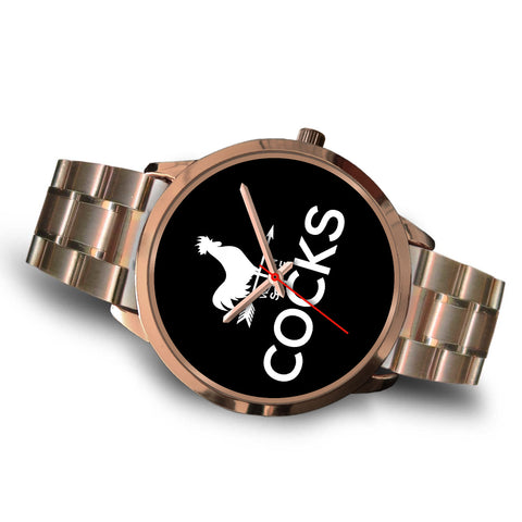 Image of Cocks Watch - Rose Gold