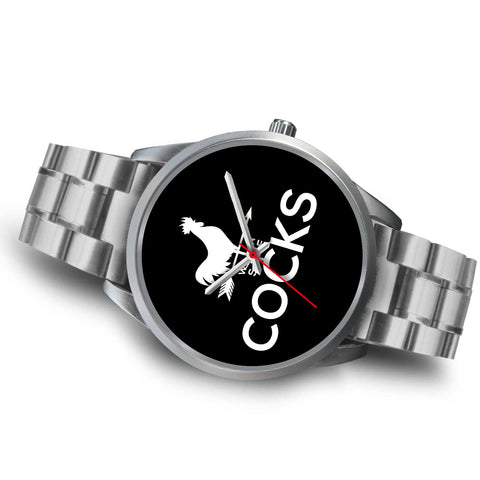 Cocks Watch - Silver